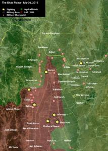 Map of the situation in Idlib. Image courtesy of @Karybdamoid