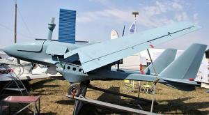 Russian UAV deployed in Syria. Image courtesy of @aawsat_News.