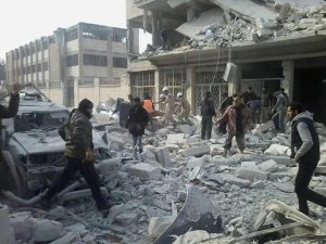 201215 @SyriaCivilDef RuAF airstrike aftermath in the city of Idlib