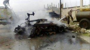 020316 @sayed_ridha Aftermath of VBIED in al-Ishah