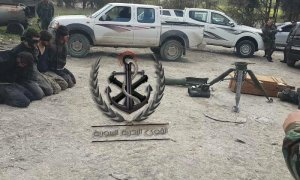 200316 @2Rook14 4 opposition prisoners and a TOW launcher taken by SAA in northern Latakia battlefront